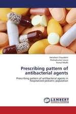 Prescribing pattern of antibacterial agents