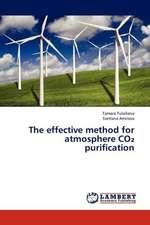 The effective method for atmosphere CO₂ purification