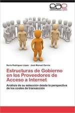 Estructuras de Gobierno En Los Proveedores de Acceso a Internet:  Expresion de Su Pensamiento Etico