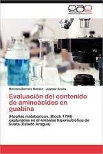 Evaluacion del Contenido de Aminoacidos En Guabina:  Evaluacion Polisomnografica