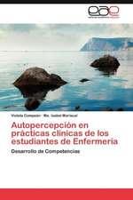 Autopercepcion En Practicas Clinicas de Los Estudiantes de Enfermeria