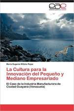 La Cultura Para La Innovacion del Pequeno y Mediano Empresariado:  Ciudad Maritima O Ciudad Petrolera?