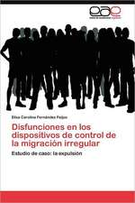 Disfunciones En Los Dispositivos de Control de La Migracion Irregular:  Factores Estrategicos de Exito