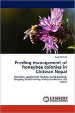 Feeding management of honeybee colonies in Chitwan Nepal