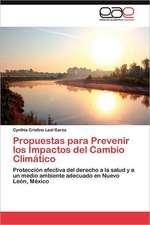 Propuestas Para Prevenir Los Impactos del Cambio Climatico:  El Caso del Tabaco