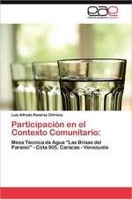 Participacion En El Contexto Comunitario:  El Nuevo Camino Hacia El Sueno Americano