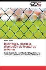 Interfases. Hacia La Disolucion de Fronteras Urbanas:  El Caso Especial de Las Personas Mayores