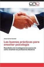 Las Buenas Practicas Para Ensenar Psicologia:  Germinacion y Establecimiento
