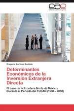 Determinantes Economicos de La Inversion Extranjera Directa