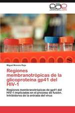 Regiones Membranotropicas de La Glicoproteina Gp41 del HIV-1