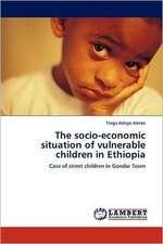 The socio-economic situation of vulnerable children in Ethiopia