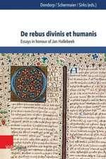 De rebus divinis et humanis