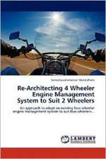 Re-Architecting 4 Wheeler Engine Management System to Suit 2 Wheelers