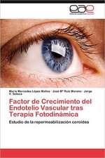 Factor de Crecimiento del Endotelio Vascular Tras Terapia Fotodinamica:  Contextos, Textos y Pretextos