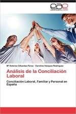 Analisis de La Conciliacion Laboral:  Lo Arabe En La Prensa Espanola