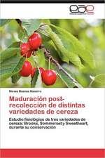 Maduracion Post-Recoleccion de Distintas Variedades de Cereza:  Factor Clave Para La Competitividad de Las Empresas