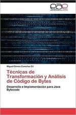 Tecnicas de Transformacion y Analisis de Codigo de Bytes:  H