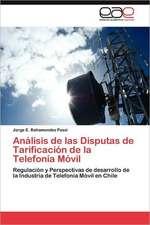 Analisis de Las Disputas de Tarificacion de La Telefonia Movil:  Una Perspectiva Para La Ciencia Cuantica