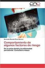 Comportamiento de Algunos Factores de Riesgo:  Efectos Sobre La Respuesta de Succion