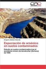 Especiacion de Arsenico En Suelos Contaminados:  Trazados Cefalometricos