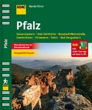 ADAC Wanderführer Pfalz inklusive Gratis Tour App