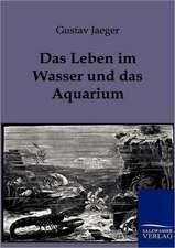 Das Leben im Wasser und das Aquarium