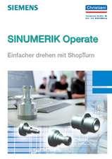 SINUMERIK Operate - Einfacher drehen mit ShopTurn
