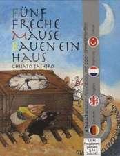 Fünf freche Mäuse bauen ein Haus (Buch mit DVD)