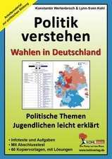 Politik verstehen / Wahlen in Deutschland