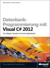 Datenbank-Programmierung mit Visual C# 2012 (Buch + E-Book)
