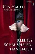 Kleines Schauspieler-Handbuch