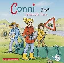 Meine Freundin Conni. Conni rettet die Tiere: 5-8 ani