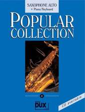 Popular Collection 8. Saxophone Alto + Piano / Keyboard