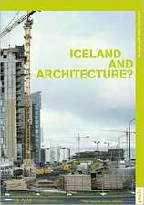 Iceland and Architecture?:  Theaters