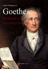 Goethes Romane und Erzählungen II