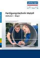 Fertigungstechnik Metall - Umformen - Biegen