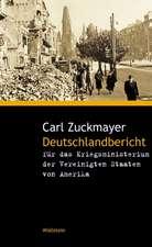 Deutschlandbericht für das Kriegsministerium der Vereinigten Staaten von Amerika