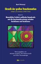 Chronik der grossen Transformation 3. Artikel und Aufsätze (1920-1945)