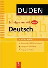 Duden Schulgrammatik extra. Deutsch (5. bis 10. Klasse)