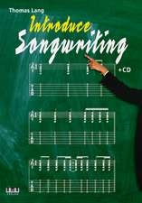 Introduce Songwriting + CD