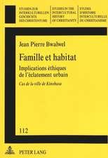 Famille Et Habitat