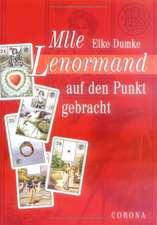 Mademoiselle Lenormand auf den Punkt gebracht. Buch ohne Karten