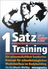 Ein-Satz Training