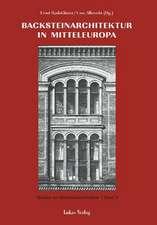 Studien zur Backsteinarchitektur / Backsteinarchitektur in Mitteleuropa. Neuere Forschungen
