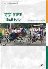 Hindi bolo! Teil 1. Lehrbuch mit CD