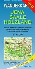 Jena - Saale - Holzland 1 : 50 000 Wanderkarte