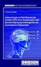 Untersuchungen zur Beeinflussung des kortikalen EEGs durch Ausdauersport unter Berücksichtigung psychobiologischer und physiologischer Zielparameter