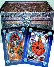 78 Geja-Tarot Karten mit Holzschatulle