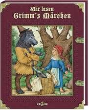 Wir lesen Grimm's Märchen