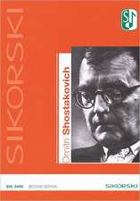 Dmitri Shostakovich Catalog of Works:  2nd Edition
